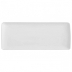 Guy Degrenne: Modulo Blanc Plat rectangulaire 40x16cm