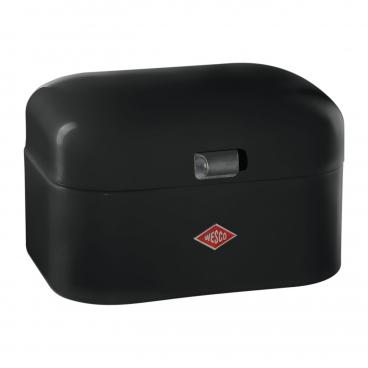 Wesco: Single Grandy Petite boîte à pain noire
