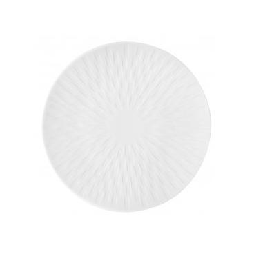 Guy Degrenne: Boréal Satin Blanc Assiette à pain 15 cm