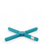 Blomus: Knik Sous-plat pliable bleu