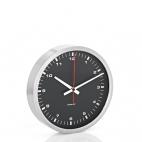 Blomus: Horloge murale autonome noire