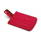 Joseph Joseph: Chop2Pot Planche à découper pliante rouge 22x26cm