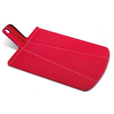Joseph Joseph: Chop2Pot Planche à découper pliante rouge 27x36cm