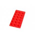 Lékué: Bac à glaçons rouge