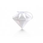 Lékué: Moule à glaçon Diamant blanc