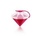Lékué: Moule à glaçon Diamant rose&blanc