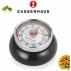 Zassenhaus: Retro Minuterie mécanique aimantée noire