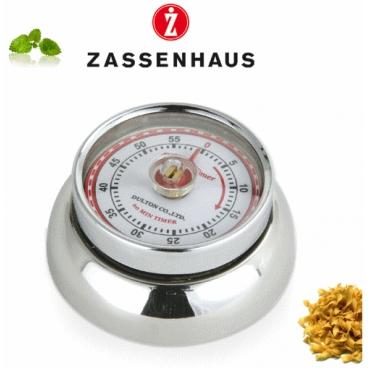 Zassenhaus: Retro Minuterie mécanique aimantée inox
