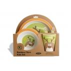Bambooware Set pour enfant 5 pièces Reindeer