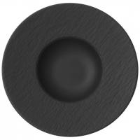 Villeroy & Boch: Manufacture Rock Assiette à pâtes 29 cm
