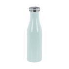 Lurch: Gourde isotherme en inox bleue clair 0,5L