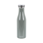 Lurch: Gourde isotherme en inox grise 0,5L