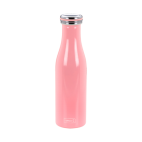 Lurch: Gourde isotherme en inox rose foncé 0,5L
