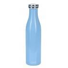 Lurch: Gourde isotherme en inox bleue foncé 0,75L