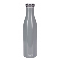 Lurch: Gourde isotherme en inox bleue clair 0,75L