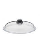 Spring Swiss Design: Couvercle en verre avec bouchon vapeur réglable 32 cm