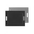 FreeForm: Plateau magique Gris & Noir 45x35cm