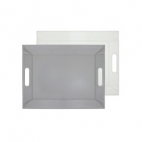FreeForm: Plateau magique Gris & Blanc 55x41cm