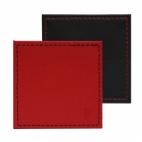 FreeForm: Set de 4 sous-verres Rouge & Noir