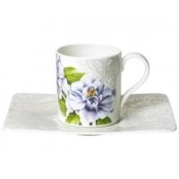 Villeroy & Boch: Quinsai Garden Tasse à café/thé avec soucoupe 2 pièces