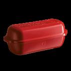 Emile Henry: Moule à pain campagne 800g rouge