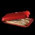 Emile Henry: Moule à baguette rouge