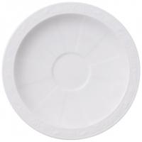 Villeroy & Boch: White Pearl Soucoupe pour Tasse à bouillon