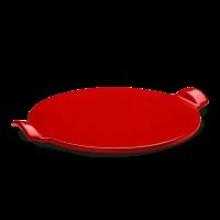 Emile Henry: Pierre à pizza lisse rouge 37 cm
