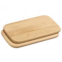 Zassenhaus: Planches à tartiner en hévéa 2 pièces