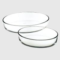 Menastyl:  Set de 2 plats à four ovales
