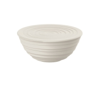 Guzzini: Tierra Saladier-Bol  blanc Gift-Box 2 pièces avec couvercle