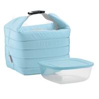 Guzzini: Sac isotherme bleu avec boite fraicheur Handy