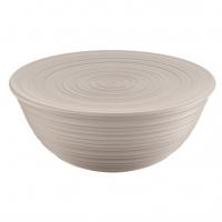 Guzzini: Tierra Saladier-Bol argile 30 cm avec couvercle