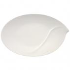 Villeroy & Boch: Flow Plat ovale 47 cm