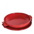 Emile Henry: Set tarte tatin rouge