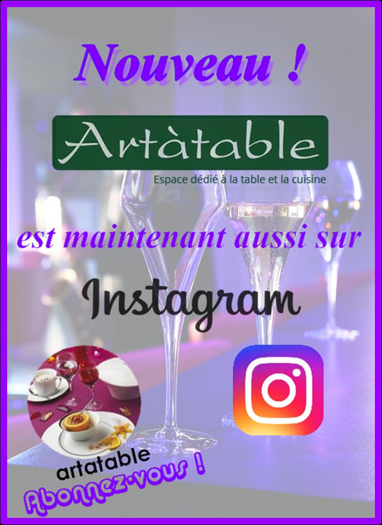 Artatable sur Instagram